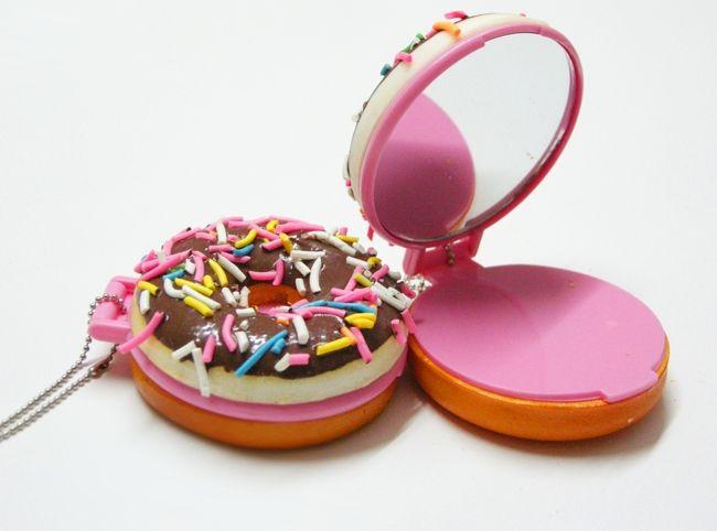 Kawaii Squishy Donut Mirror