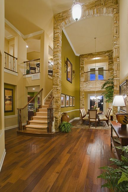 40 Luxurious Grand Foyers For Your Elegant Home: 40 Best Images About Floor Plans On Pinterest