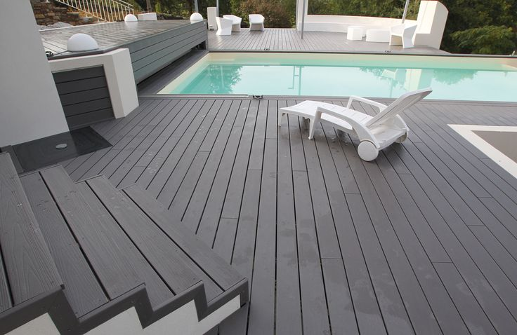 Lame Composite Decking #Composite #Material #Decking | Terrasse