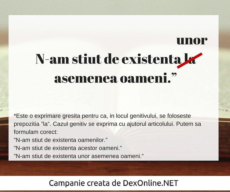 Salvam limba romana impreuna! #salveazalimbaromana #dex #gramatica http://dexonline.net