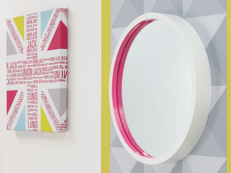 Fluro Therapy; create a vibrant and playful space with fun geometric shapes and fluorescent flashes.