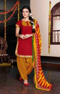 KXxOaXG.jpgRed Salwar Kameez & Suits Online Shopping India Crazy Fashion Deal