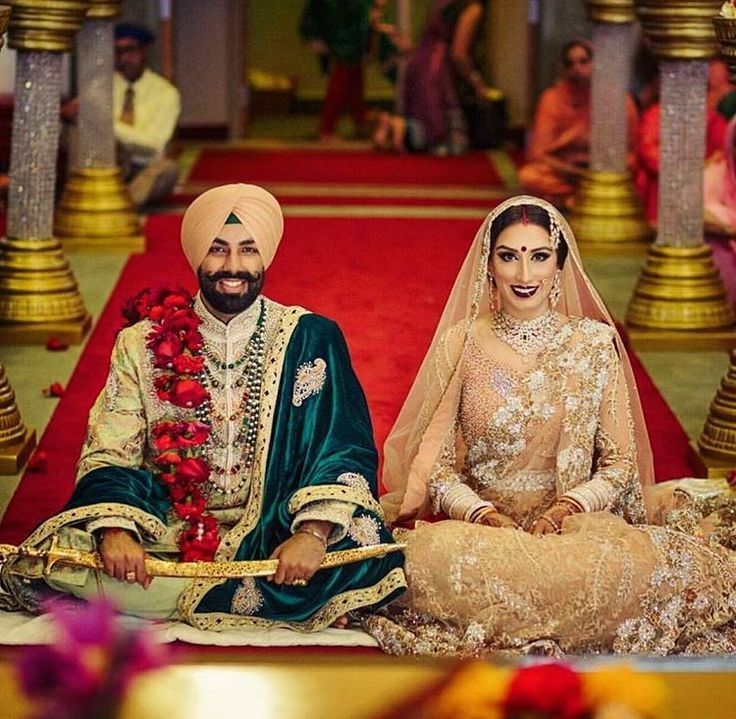 Sikh Wedding: Best 25+ Punjabi Wedding Dresses Ideas On Pinterest