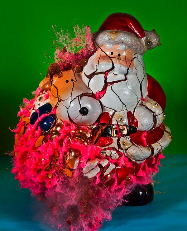Merry Christmas! Exploding ornaments by Alan Sailer