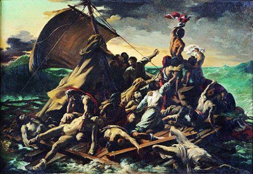 O NAUFRÁGIO DA MEDUSA circ  857-1858 T. Gericault