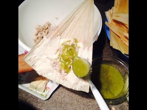 Tamales de Chile Verde (How To) ( Mom) (<3 the Abuela's Kitchen on YouTube)