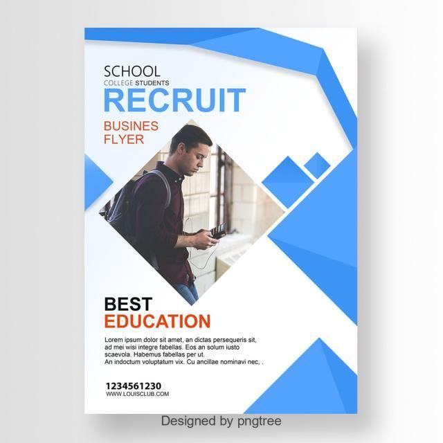 Recruit Career Fair Flyer