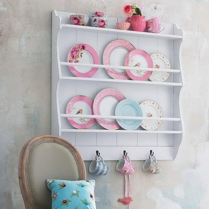 [4%255B4%255D.jpg]: Kitchens, Decor, Ideas, Pip Studio, Plates, Plate Racks, Shabby Chic, Vintage, Platerack