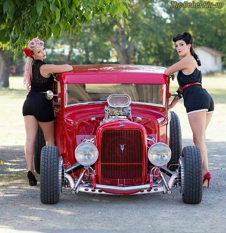 Ford Hot Rod Sedan Hotrods Pinups Pinstripes And Stuffs