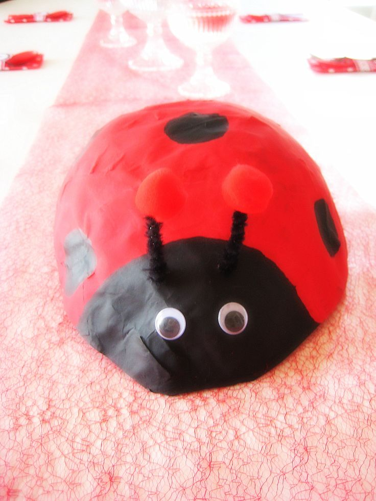 Ladybug decoration for party