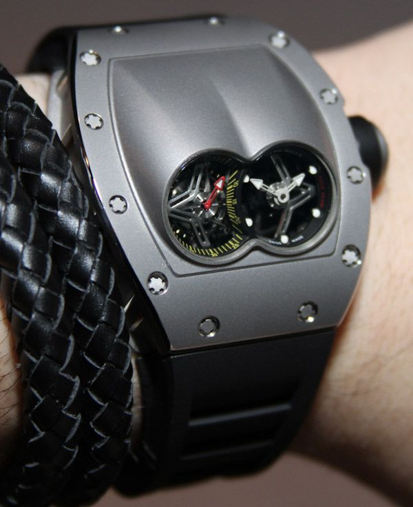 Richard Mille RM 053 Watch Hands On   hands on