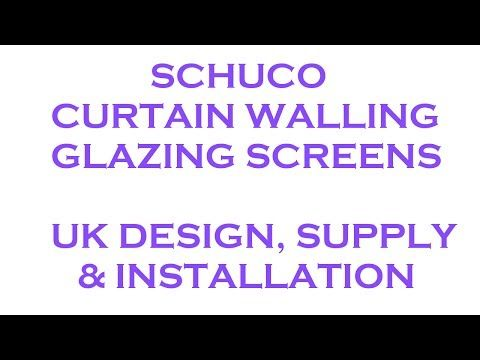 schuco curtain walling and. Black Bedroom Furniture Sets. Home Design Ideas
