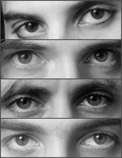 The eyes of geniuses