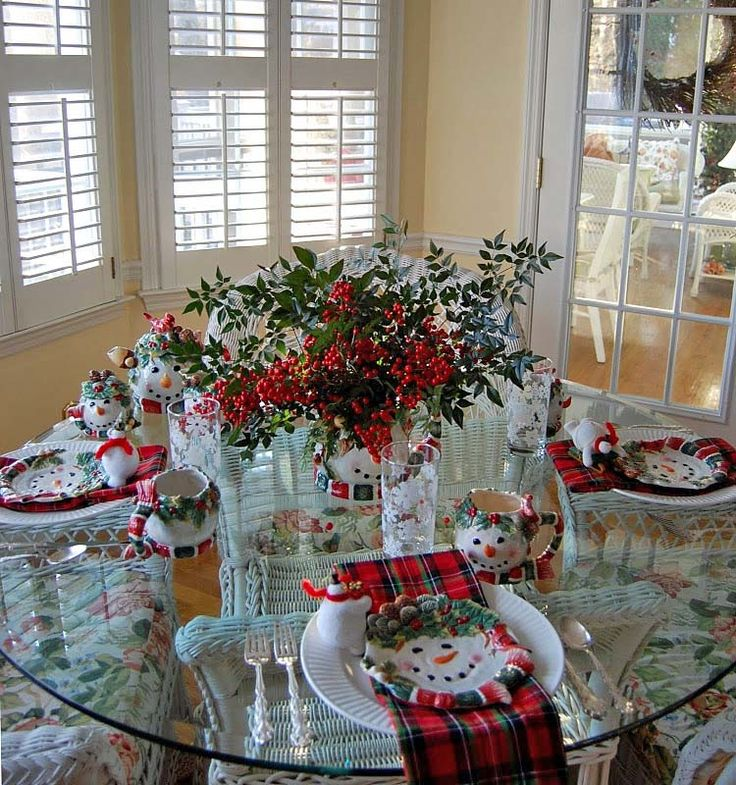Christmas Holiday Table Decorations: 10 Best Winter Tables Images On Pinterest