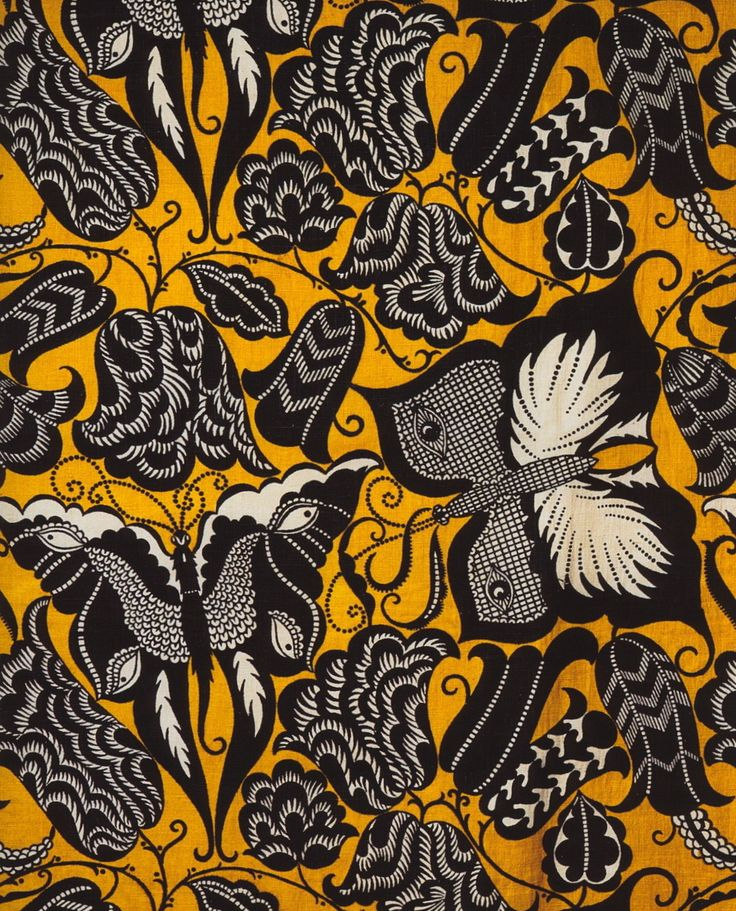 Butterflies and Roses Pattern by Emile-Alain Seguy, 1926 .