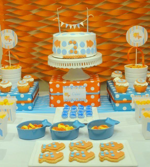 "Photo 1 of 22: Goldfish / Birthday ""Goldfish Birthday Party"" 