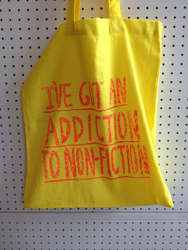Addiction to non-fiction!