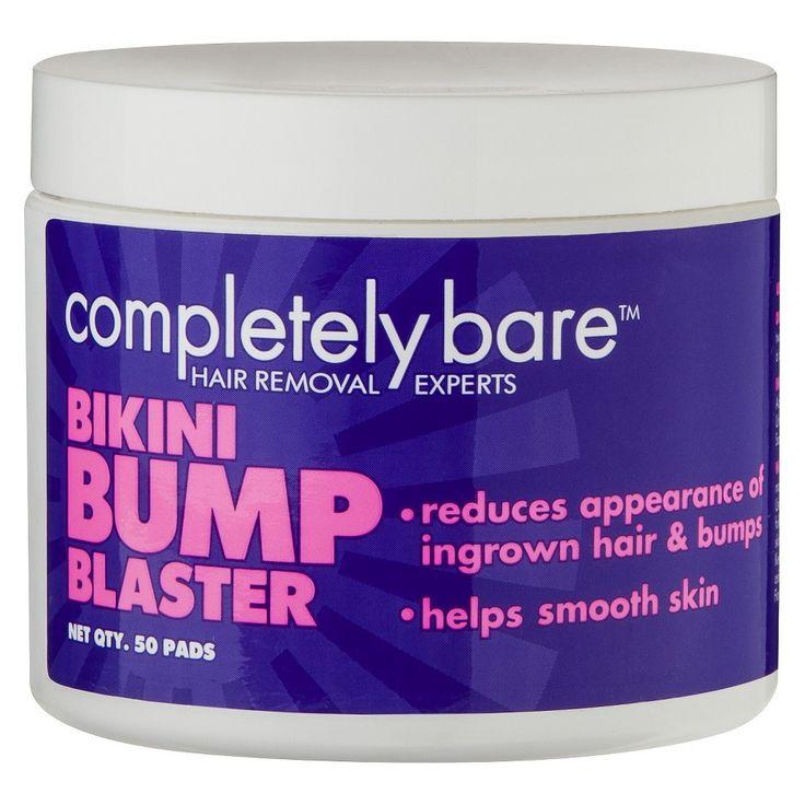 Completely Bare Bikini Bump Blaster - 50 Pads