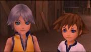Riku and Sora are so cute when they were kids :)Final Fantasy, Videos Games, Bbs Sora, Kingdom Heart