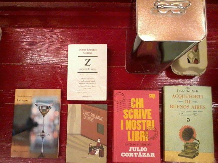 Alla Panca Rossa della Libreria Marco Polo piace la letteratura latinoamericana