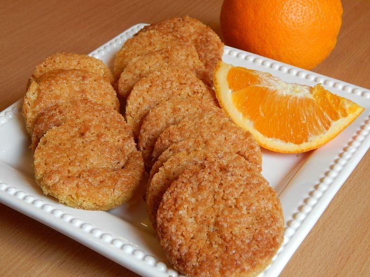 Narancsos gyömbéres keksz