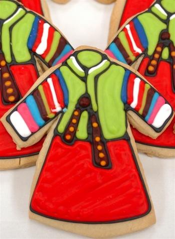 hanbok cookies.