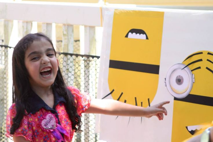 Despicable Me Minion Birthday Party Game | The Crafty Crazy