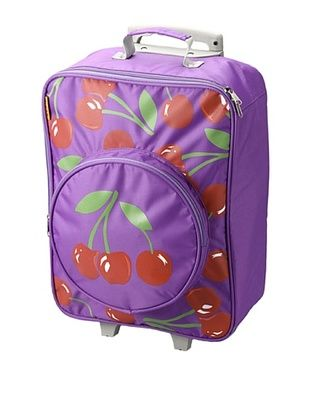 61% OFF D&N Kids Cherry Rolling Suitcase