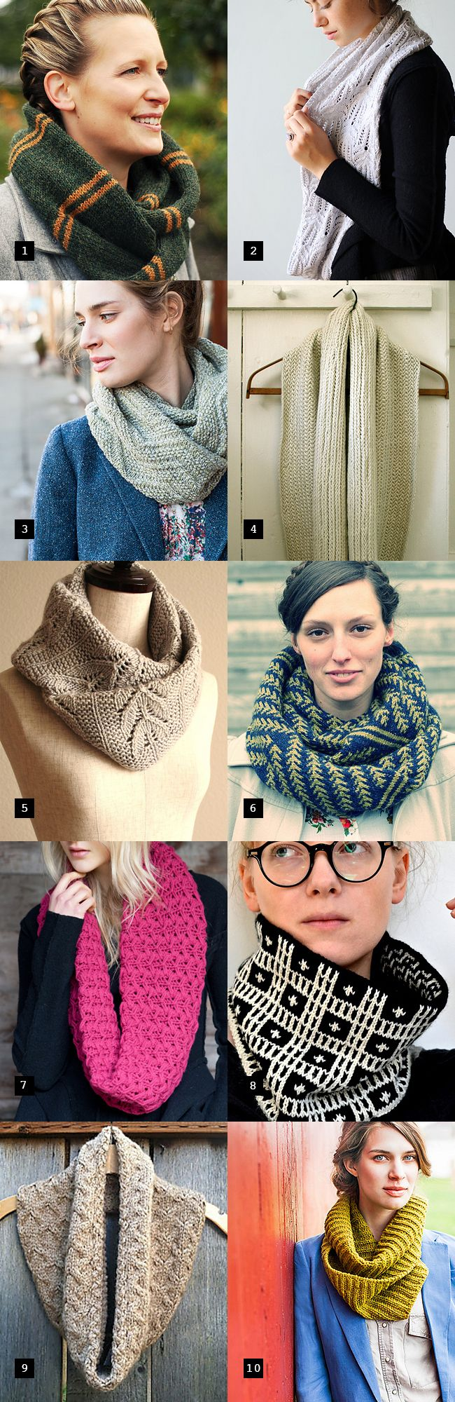 Holiday knitting cheat sheet: A cowl pattern for every girl on your list