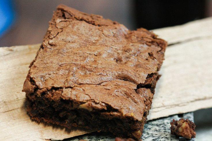 Die besten Brownies der Welt, behauptet jedenfalls mein Sohn und der muss es ja wissen. Ich glaub es jedenfalls gerne!