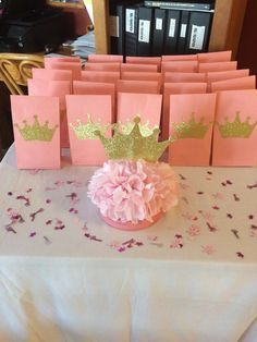Princess Crown Centerpiece by BellissimaParty on Etsy