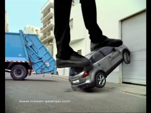 Agile like a skateboard: video commercial for the Nissan Qashqai