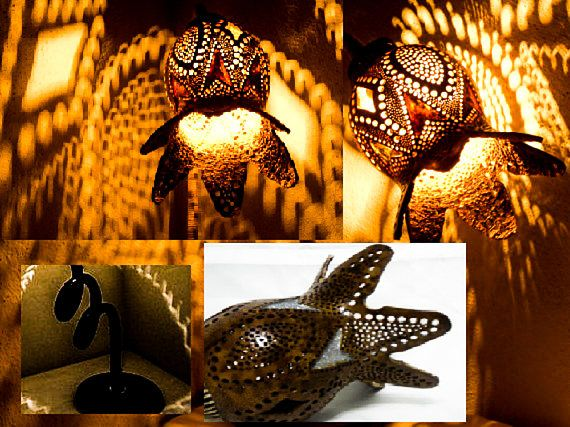 Valentine's Decoration Gourd lamps Turkish mosaic lamp