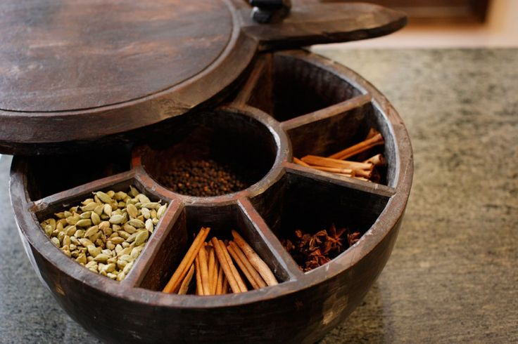 authentic Indian Spice Box