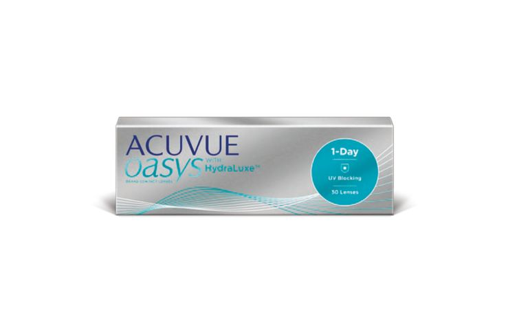 Acuvue Oasys 1-Day with HydraLuxe 30 szt. + 10 szt. GRATIS | Sklep EyeWear24.net
