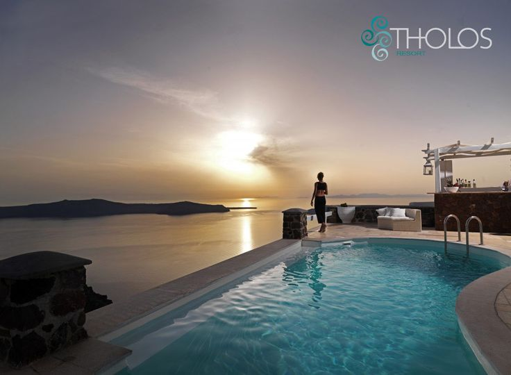 Welcome to #Tholos Resort, on the cliff of the #Caldera! more at tholosresort.gr