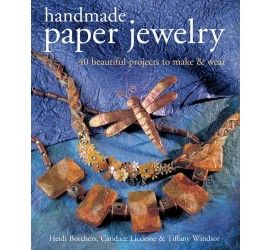 Handmade Paper Jewelry #booksonline #onlinebooks #handmadepaperjewelry #craftsbooks