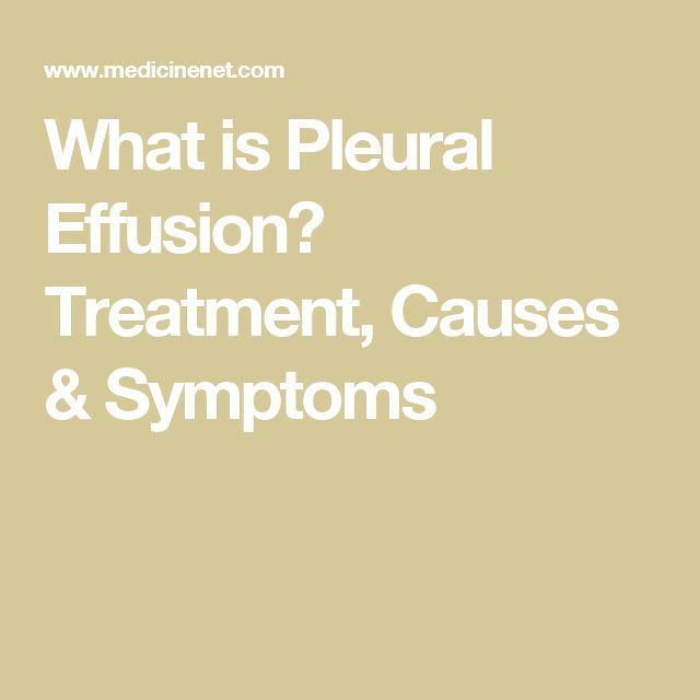 pleural effusion causes diagnosis and treatment - 640×640
