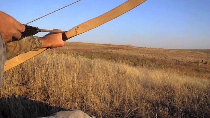 Otzi The Iceman Arrow Part 3.  Primitive Archery Bow Hunting for blackta...