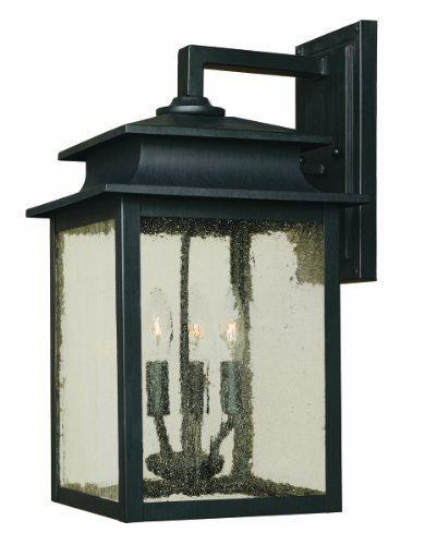 World Imports 9106-42 Sutton Collection 3-Light Outdoor