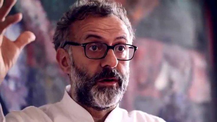 Massimo Bottura, chef dell'Osteria Francescana (3 stelle Michelin) presenta Al Meni.