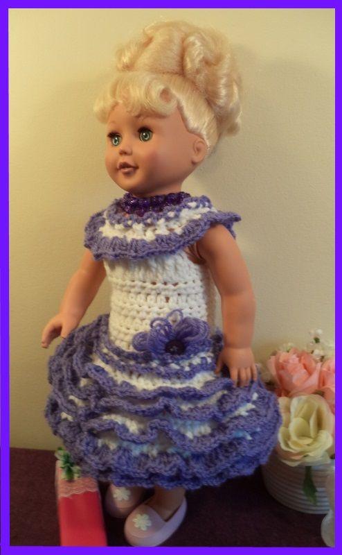 Free Crochet Dress Pattern For Girl