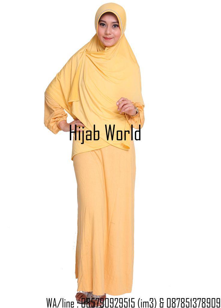 jilbab syar'i spandek permata kuning sms/wa 0821.4284.5152