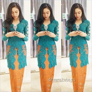 Kebaya Batik Authentic Indonesian Fashion - Collection Style 2014