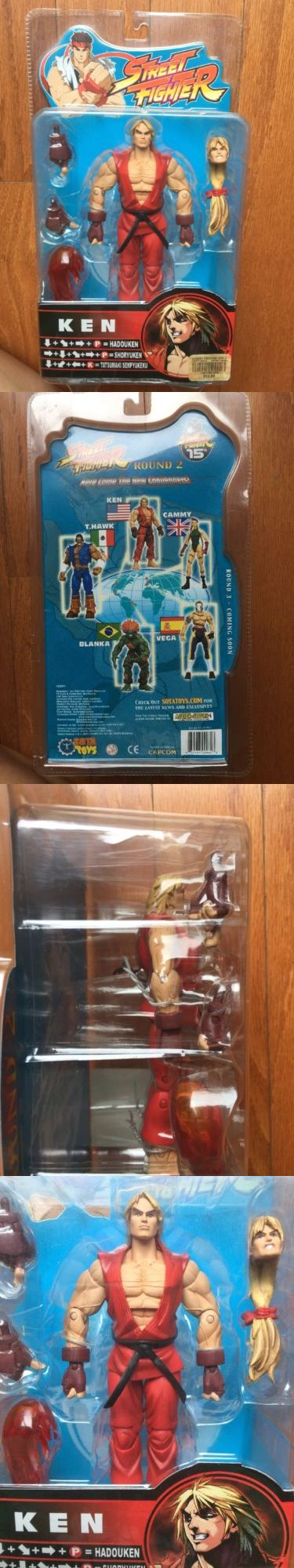 Action Figures 7114: Capcom 2005 Sota Toys Ken Street Fighter 15Th Action Figure Round 2 -> BUY IT NOW ONLY: $87 on eBay!