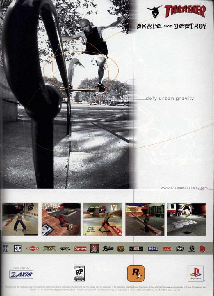 Thrasher: Skate and Destroy (1999)