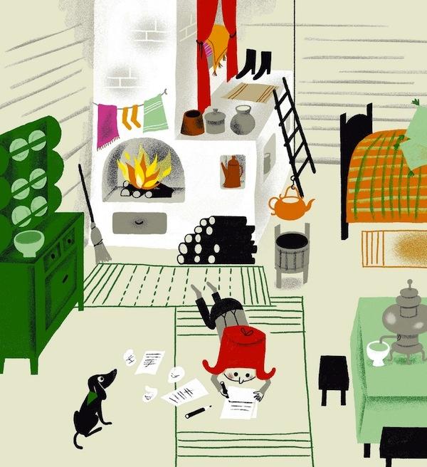 Aurelie Guillerey Illustration ArtArt IllustrationsDachshundCow BoysInterior DesignBookKidModern