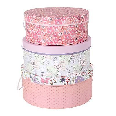 #Tri-coastal design #jenna lynn set of 3 #round hat boxes,  View more on the LINK: http://www.zeppy.io/product/gb/2/262669729510/