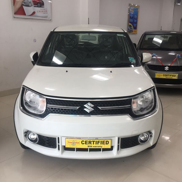 Make: Maruti Suzuki Model: IGNIS Variant: Alpha (Top Variant) Year: 2017 Color: White Mileage: 4700 km  For Bookings Call: 9899965993  #MarutiSuzuki #TrueValue #Ignis #UsedCar #RanaMotors #NewDelhi #Gurgaon