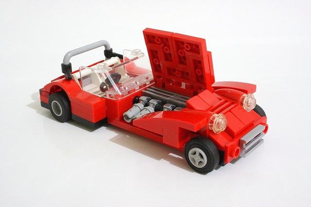 Lotus Seven #flickr #LEGO #car